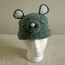 Mouse Hat for Children - Animal Hats - Large - $16.00