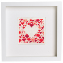 Heart of Hearts cross stitch chart Cherry Lane Designs   - $8.10