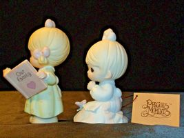 Precious Figurines Moments  731129 and PM922 AA-191839  Vintage Collectible image 4