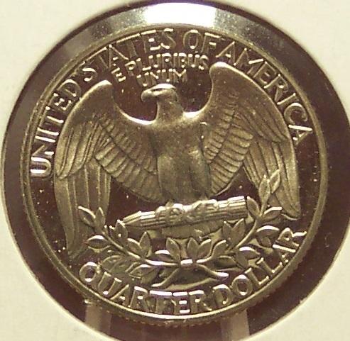 1986-S DCAM Proof Washington Quarter PR65 #877
