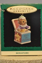 Hallmark - Baby's First Christmas - Jack-In-The-Box - Miniature Ornament - $8.01