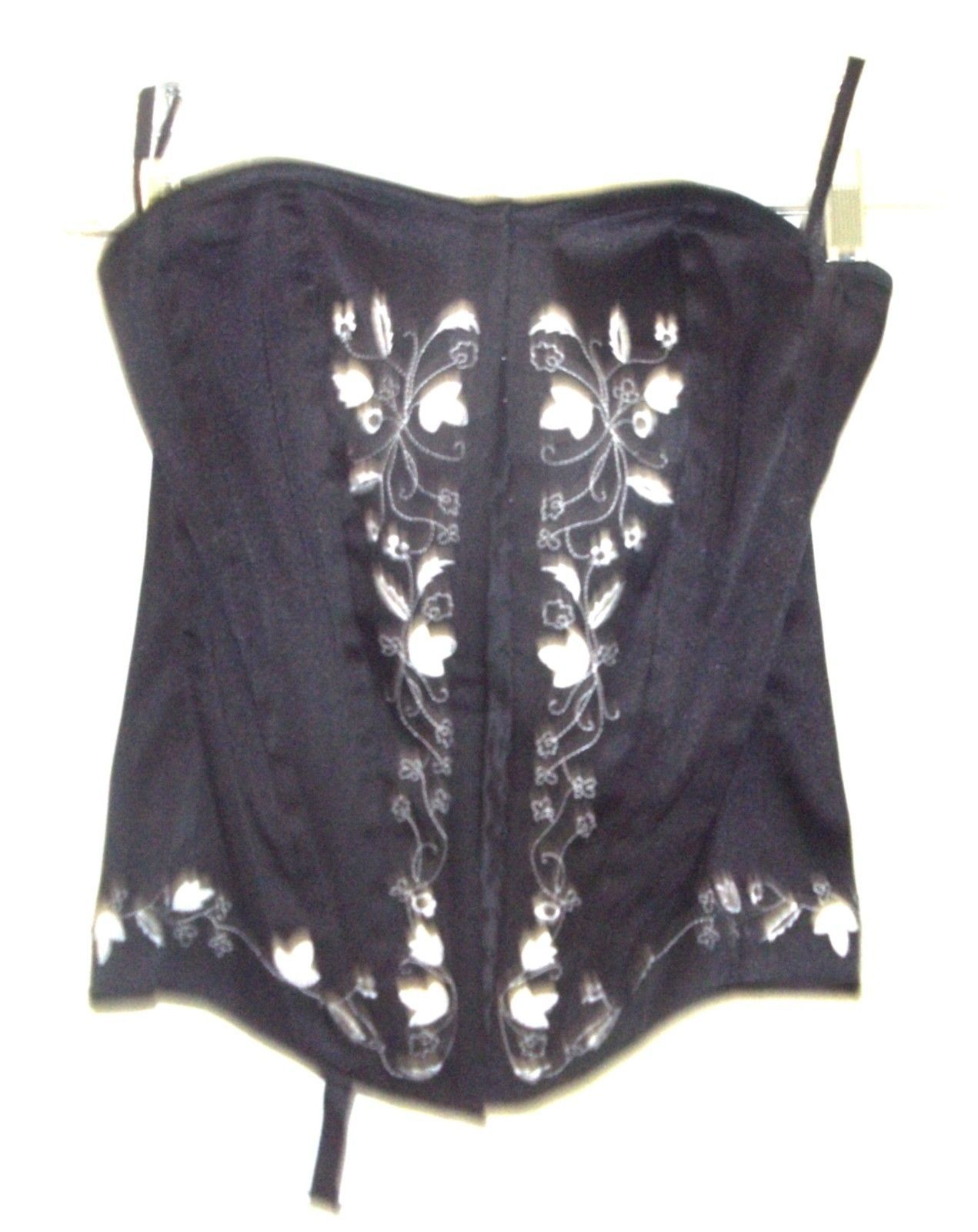 ddf763570fd Charlotte Russe Lace Up Bustier Corsets w Hooks   Eyes Size S-M