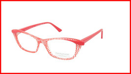 Face A Face Eyeglasses Frame ADICT 3 Col. 6401 Acetate Red Dots Crystal - $316.62
