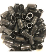"12 Premium Quality Collared Iron Ferrules Solid Black 0.75"" - .355 or .370 - $23.99"