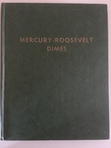 Mercy-Roosevelt Dimes Whitman Folder Book 1958 # 9210 - $10.00