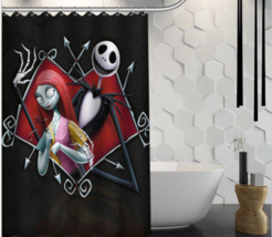 Party Happy Halloween 76 Shower Curtain Waterproof Polyester Fabric For Bathroom - $33.30+