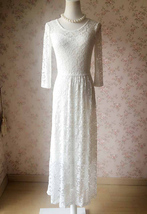 Ivory White Lace Boho Dress Wedding Dresses Bohemian Wedding Dress BOHO WEDDING