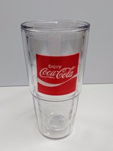 "Coca-Cola 24oz ""Enjoy"" Tervis Tumbler Cup - BRAND NEW - $18.32"