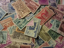 OLDER GROUP OF ALL DIFFERENT USED USA 3 CENTS LARGE COMMEMORATIVES FREE ... - $6.92