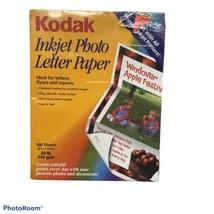"Kodak Photo Paper - Letter - 8.50"" X 11"" - 39 Lb - Matte - 100 / Pack - White - $14.84"