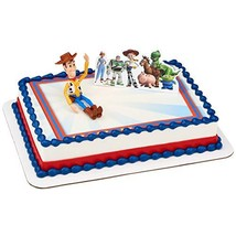 Toy Story 4 Team Toy Cake Decoration Topper Woody