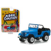 1972 Jeep CJ-5 Blue Mork & Mindy (1978-1982) TV Series Hollywood Series ... - $13.15