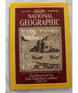 National Geographic Magazine - Nov. 1986, Vol 170, No 5 - Columbus &  Ne... - $8.50