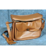 Vintage 60s/70s Plastic Camera bag  - 11 x 5 x 8 inches approx. - $8.00