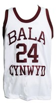 Kobe Bryant Bala Cynwyd Middle School Basketball Jersey New White Any Size image 1