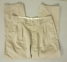 Polo Ralph Lauren Trade Mark Co. Classic Fit Chino 32x28 Pleated front K... - $34.64