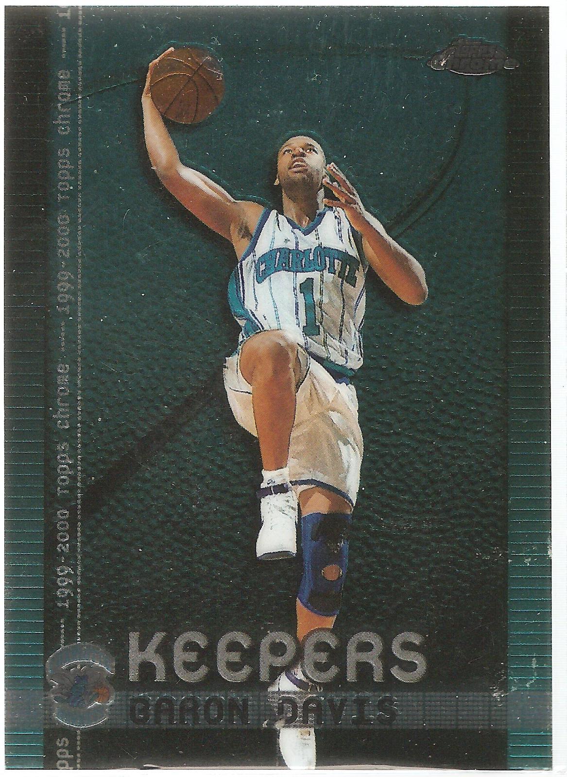 39ff46985fc Baron Davis Topps Chrome 99-00 #K6 Keepers Charlotte Hornets Golden State