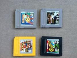 Game Boy Lot: Donkey Kong Land 3, Pac Man, Frogger & Ken Griffey - $24.13