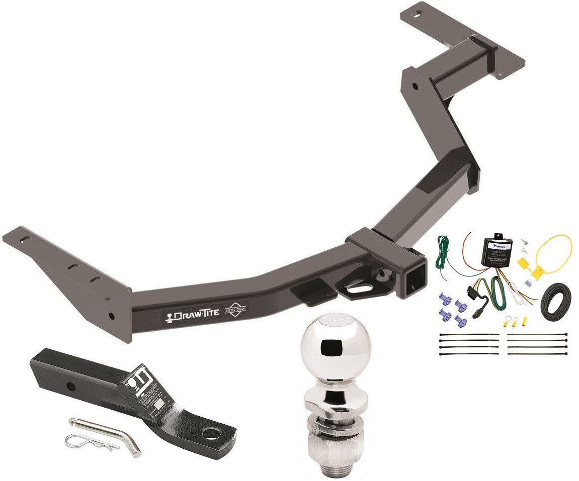 Toyota Trailer Hitch Package 71 Listings Wiring Kit 2014 Hilux Sw4 Complete W Ball Mount 24052