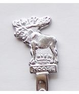 Collector Souvenir Spoon Canada Bull Moose Figural - $4.99