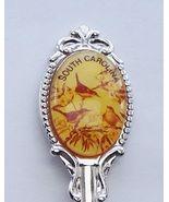 Collector Souvenir Spoon USA South Carolina Wren Emblem Map Bowl - $2.99