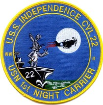US Navy CVL-22 USS Independence Military Patch - $9.99