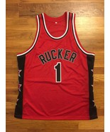 Authentic EBC Entertainers Rucker Park T-Mac Tracy McGrady Road Away Jer... - $399.99