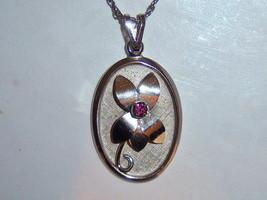 Dainty Flower Vintage Bond Boyd Necklace - $15.00