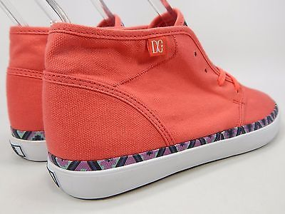 DC Studio LTZ Mid Top Textile Women's Skate Shoes Size US 9 M (B) EU 40.5 Pink
