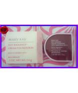 NEW NIB Mary Kay Day Radiance  Rich  Bronze Cream Foundation .5 OZ SPF 8... - $14.99