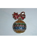 Pre Owned Christmas Ornament Pin - $10.00