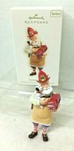 2008 Toymaker Santa #9 Fireman Hallmark Christmas Tree Ornament MIB w Pr... - $36.14