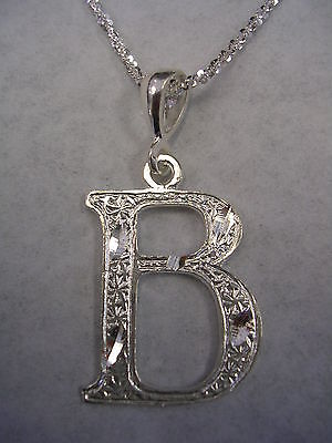 pendant letter yellow tiny coin necklace b initial roberto treasures diamond medallion gold