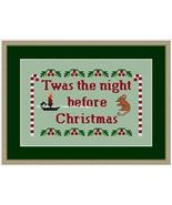 Twas The Night Before Christmas cross stitch chart Stitchers Anon Designs - $8.10