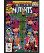 New Mutants Annual #6 SIGNED Rob Liefeld AND Dan Panosian / Marvel Comic... - $39.59