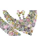 1,516 ± Carat Genuine PARAIBA WATERMELON TOURMALINE Solid Sterling Necklace - $811.35