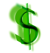 *DOLLAR SIGN II* Digital Art JPEG Image Download - $2.97