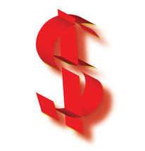 *DOLLAR SIGN I* Digital Art JPEG Image Download - $2.97