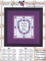 Bring You A Bouquet Sandi Phipps Cross Stitch Pattern Laminated New Moth... - $6.99