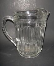 Hocking Glass Colonial Knife and Fork Pitcher C... - $4.75