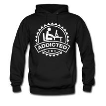 addicted hodie sweatshirt tshirt - $22.50+