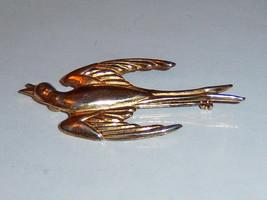 Vintage Coro Swallow Brooch. Vintage Coro Swift Brooch. Coro Bird Brooch. - $19.00