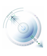 *Circles_Squares_Lines_Green* Digital Illustration JPEG Image Download - $3.93