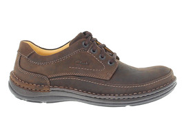Lace-up shoes CLARKS NATURE TO in ebony leather - Men's Shoes - $181.26