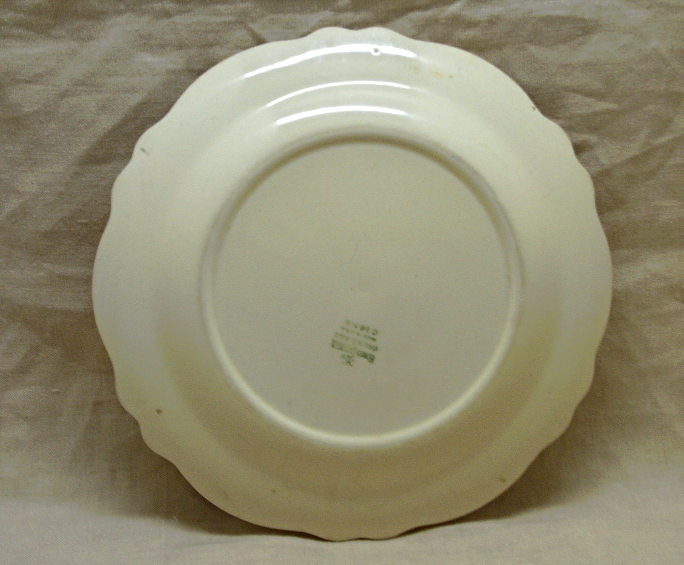 Two Vintage HOMER LAUGHLIN Dinner Plates in VIRGINIA ROSE Pattern