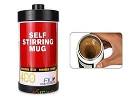eSmart Self Stirring and Spinning Mug Film style Mug - Mix Your Coffee D... - £10.11 GBP