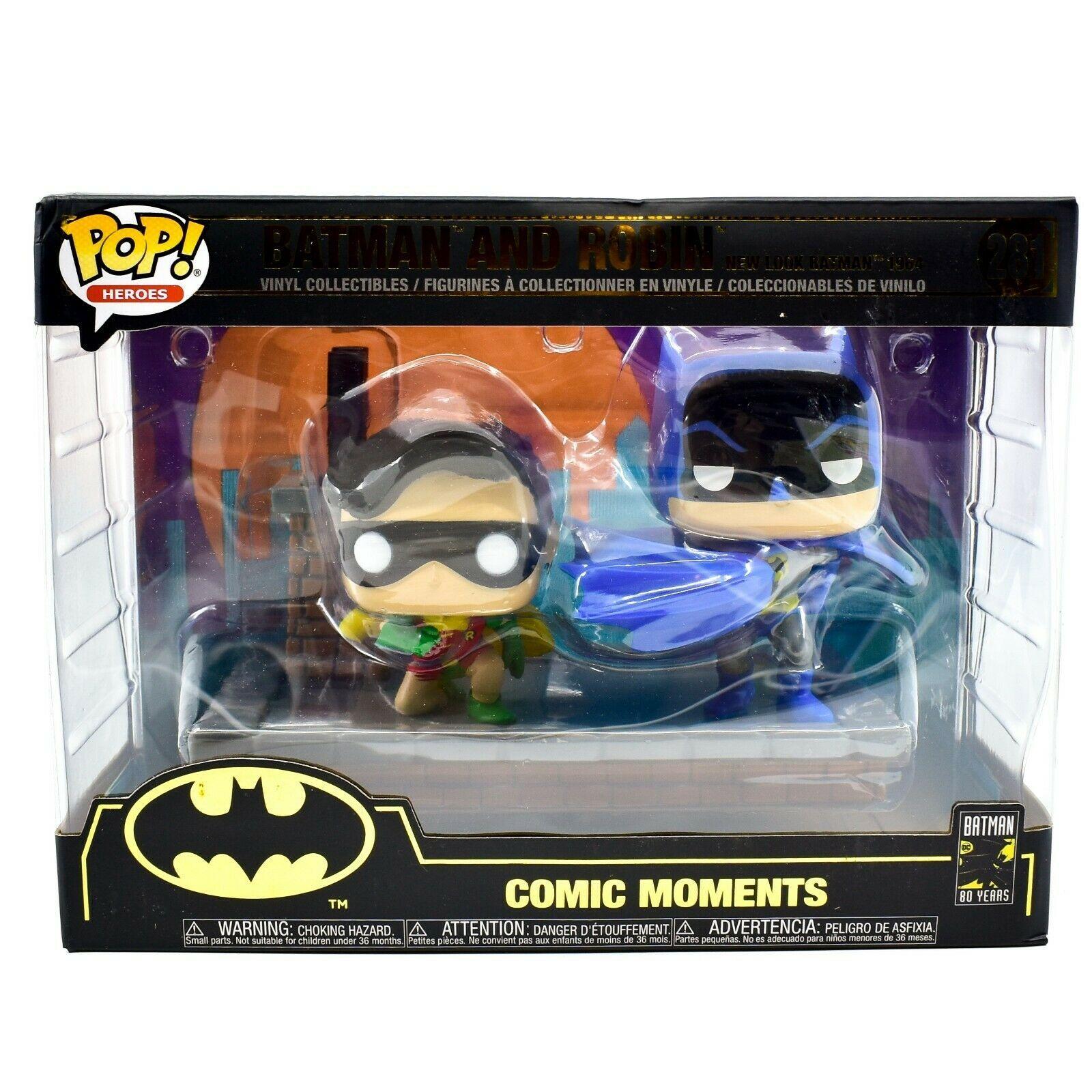 Funko Pop! DC Super Heroes Batman and Robin 1964 80 Years Anniversary Figure 281