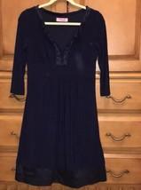Eliza J Navy Blue Dress Medium - $23.33