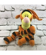 Vintage The First Years Winnie The Pooh Tigger Musical Plush Pull Crib Toy - $16.82