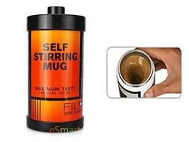 eSmart Self Stirring and Spinning Mug Film style Mug - Mix Your Coffee D... - £9.64 GBP